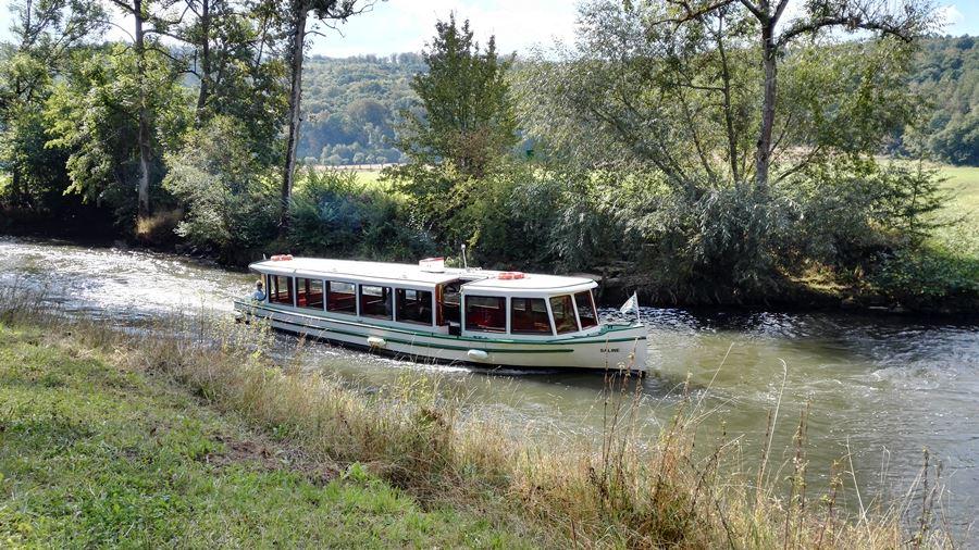 Tour mit dem Saaleschiff in Bad Kissingen