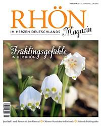 Cover Rhön Magazin Frühjahr 2017