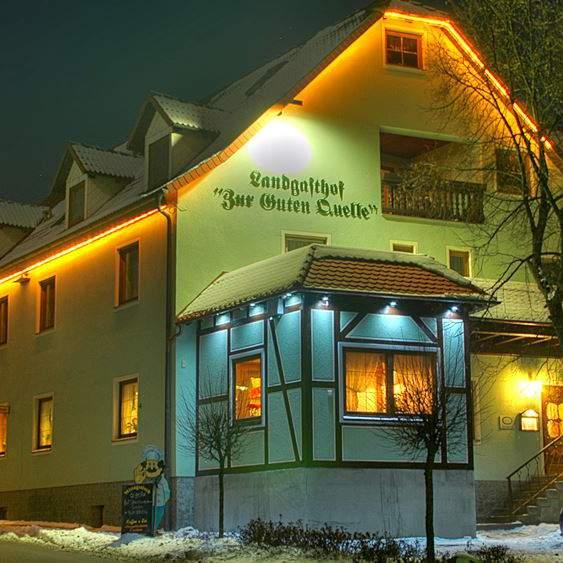 Pension Und Restaurant Hennerger Haus Meiningen Thüringen: Landgasthof & Hotel Zur Guten Quelle Kaltensundheim