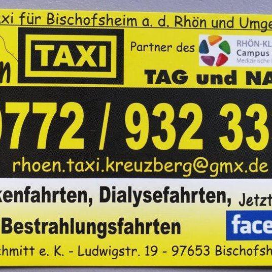 Rhön Taxi Bischofsheim