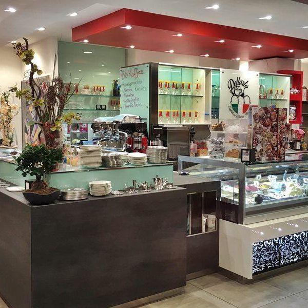 Cafe Gelateria Dellarte Theke