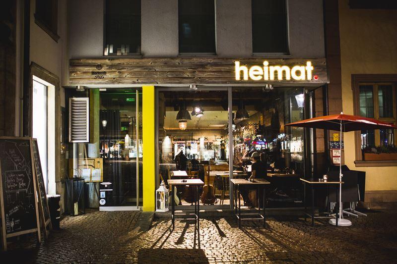 Heimat.Fulda Restaurant & Bar mit hochwertigen Produkten der Region