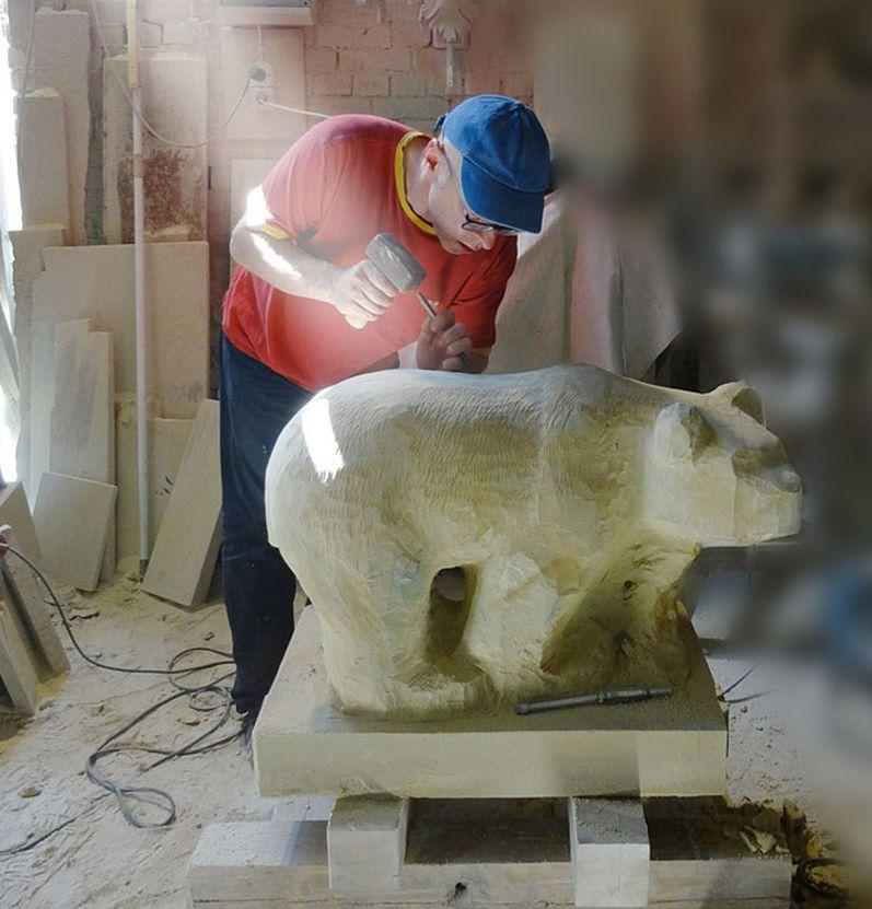 Bildhauer Gunter Schmidt Ebersburg Holzskulpturen