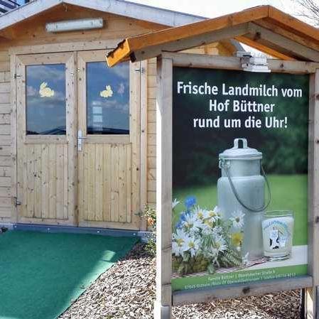 Milchtankstelle Büttner – Oberwaldbehrungen