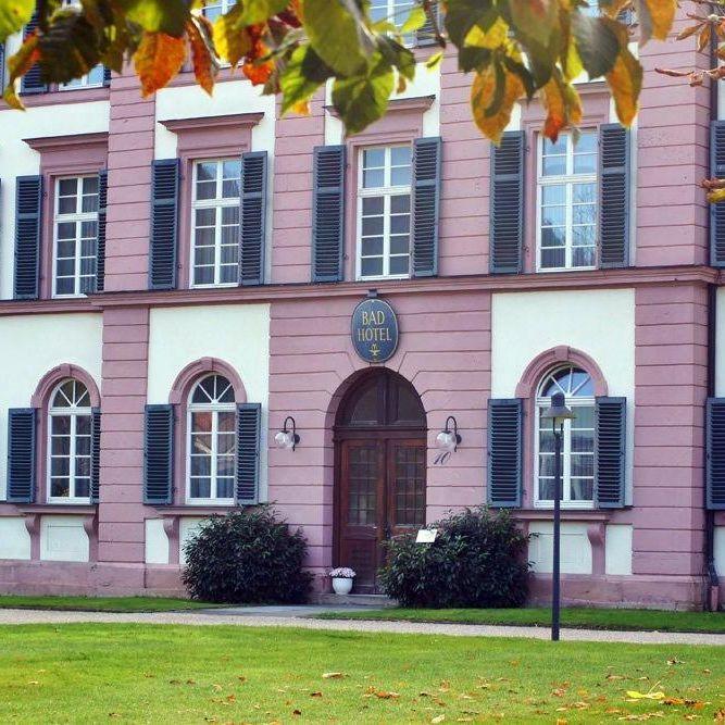 Badhotel Bad Brueckenau Eingang