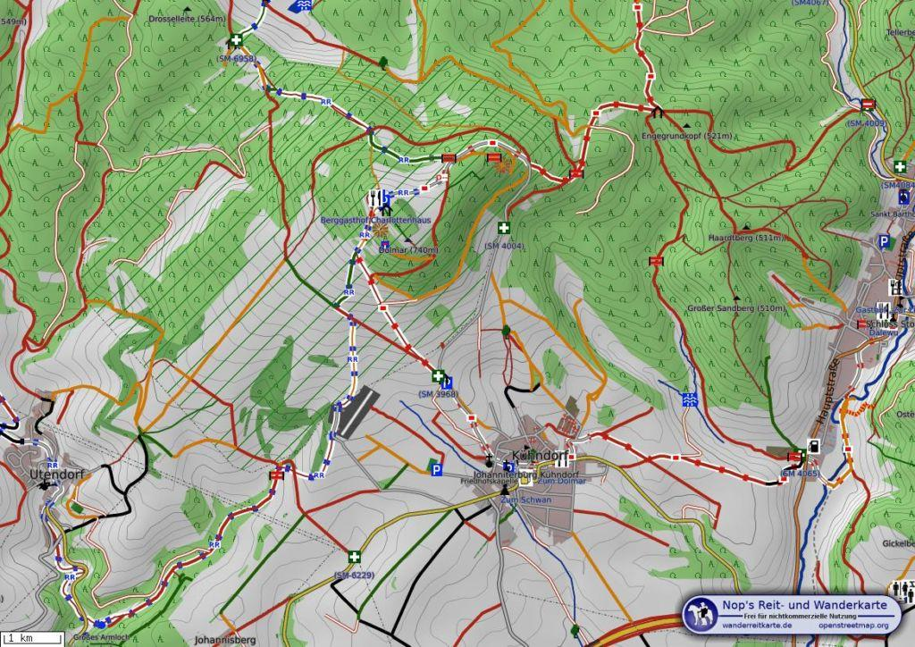 Dolmar Karte