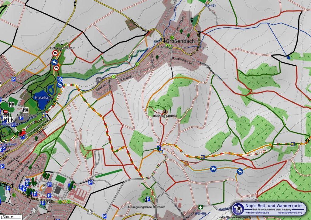 Via Regia Turm Karte