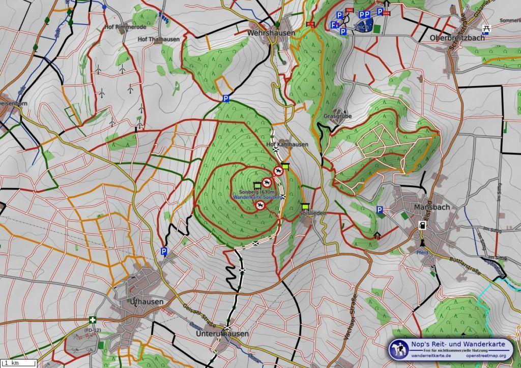 Soisberg Karte
