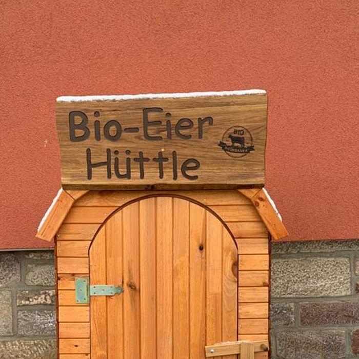 Bio-Eier Hüttle – Oberweißenbrunn